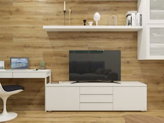 Living room by AKANT Design, Scandinavian