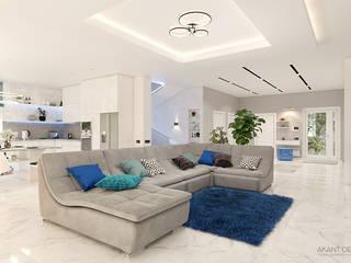 Living room by AKANT Design, Minimalist