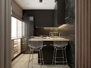 Built-in kitchens by AKANT Design, Industrial