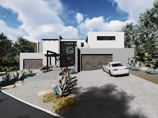 Modern House Exteriors by UpStudio Architects Modern