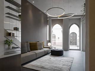 Pasillos, vestíbulos y escaleras de estilo mediterráneo de beatrice pierallini Mediterráneo