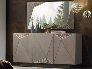 Idea Stile 现代客厅設計點子、靈感 & 圖片