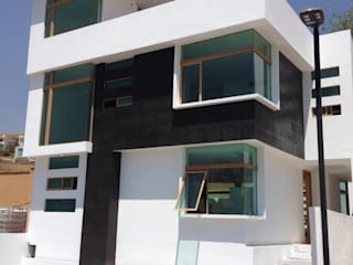 Arqcubo Arquitectos Rumah Minimalis Beton White