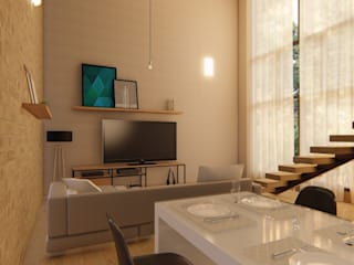 Modern dining room by D.O.S. Arquitetura Modern