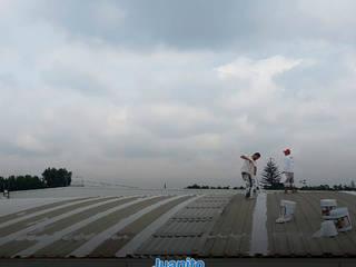 Impermeabilizacion naves industriales Juanito El Pintor Azoteas Goma Blanco
