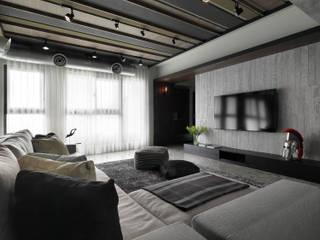 擺脫沉重氣韻 重工業明亮質感居 根據 子境室內裝修設計工程有限公司 工業風