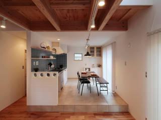 ありきたりの家にしたくない 北欧デザインの ダイニング の ELホーム/KURASU HOUSE 北欧