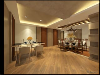 Classic style dining room by 漫漫發想室內設計 Classic
