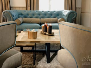 Marcotte Style Ruang Keluarga Gaya Country