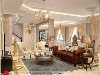 Thiết kế nội thất biệt thự Mễ Trì phong cách cổ điển Thiết Kế Nội Thất - ARTBOX