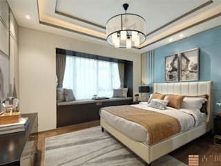 Bedrooms: modern  by Paul Architects and Interiors,Modern