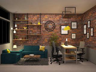 CORPORATE OFFICE SD INC. Modern study/office by SDINCO Modern