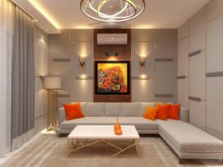 EAST OF KAILASH,NEW DELHI (RESIDENTIAL INTERIORS): modern  by SDINCO,Modern