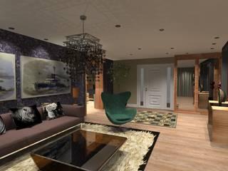 Espaco Interno Casa Design Moderno: Salas de estar  por Arch Design Concept,Moderno Madeira Acabamento em madeira
