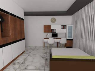 neo tower amanora pune Modern study/office by nest decor Modern