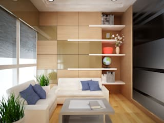 CORPORATE OFFICE, SAKET Modern offices & stores by SDINCO Modern
