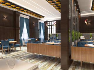 The Radiant Restaurant,Gorakhpur Modern bars & clubs by SDINCO Modern