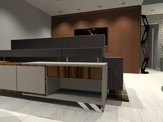 Salas de estilo moderno de Arch Design Concept Moderno
