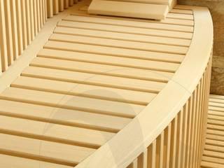 Sauna su misura in villa privata Spa moderna di Stenal Moderno