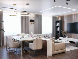 Salas de estilo moderno de CGM studio Moderno