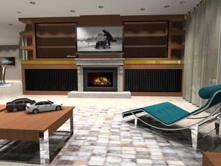 Salas de estilo clásico de Arch Design Concept Clásico