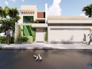 Casa Arborizada por Inglobal planejamentos Moderno