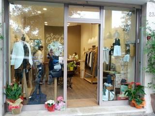 Atèlier sartoriale ROMA Negozi & Locali commerciali in stile minimalista di GDAdesign Minimalista