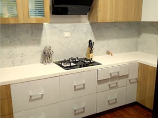 Shape Interiors Dapur built in Kayu White
