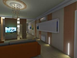 Salas de estar modernas por Aida Tropeano & Asoc. Moderno