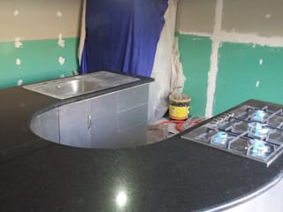 cubiertas, cocinas,barras etc. GRANITERO Y MARMOLERO CocinaEncimeras Granito Verde