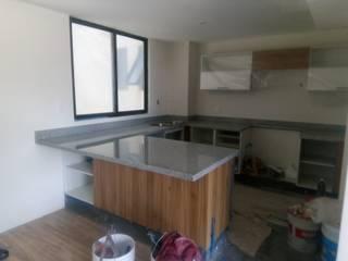 cubiertas, cocinas,barras etc. GRANITERO Y MARMOLERO Cocinas pequeñas Granito Gris