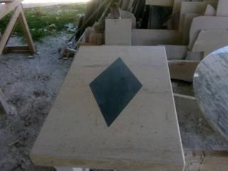 mesa de marmol GRANITERO Y MARMOLERO SalasMesas de centro y auxiliares Mármol Beige