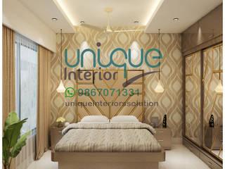 interior contractor: minimalist  by unique interior Mumbai,Minimalist