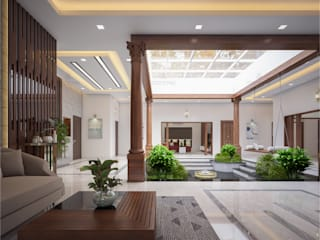 Monnaie Interiors Pvt Ltd Modern dining room