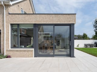Contemporary Extension de Hackett Visuals Moderno