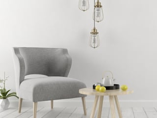 Rent Ready:  Living room by Dreamz Unwired,Minimalist