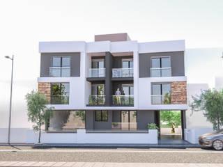 Dinç apartmanı - 2019 Modern Evler ASK MİMARLIK İNŞAAT Modern