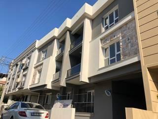 Dinç apartmanı - 2019 ASK MİMARLIK İNŞAAT Modern