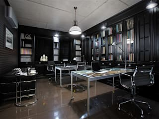 studio68-32 Industrial style study/office