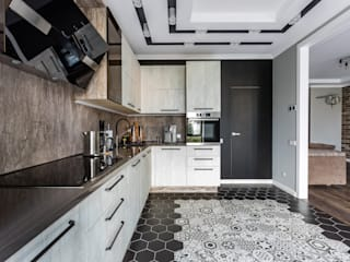Éléments de cuisine de style  par Ремонт и дизайн квартир с ICON, Industriel