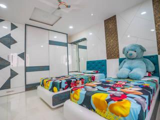 Stylish Home by Nabh Design & Associates Nabh Design & Associates Modern nursery/kids room Engineered Wood Blue