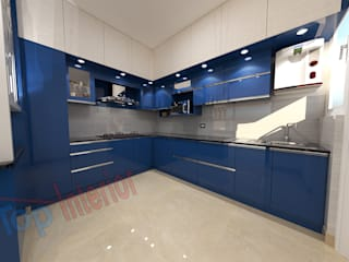 Modular kitchen by iTop Interior