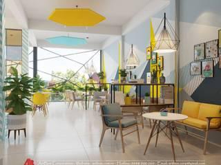Thiết kế nội thất quán cafe Đông Anh Thiết Kế Nội Thất - ARTBOX