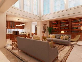 Salas de estilo moderno de Alpha Details Moderno