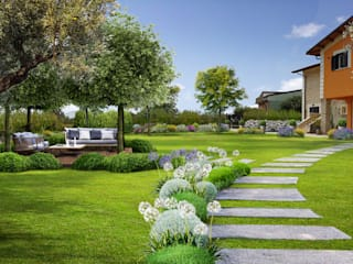 Verde Progetto - Adriana Pedrotti Garden Designer Antejardines