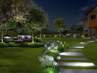 Verde Progetto - Adriana Pedrotti Garden Designer Jardines de estilo mediterráneo