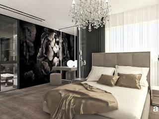 Bedroom by ARTDESIGN architektura wnętrz, Modern