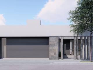 Maisons de style  par ARBOL Arquitectos , Minimaliste
