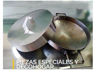 Campanas de Quinchos - DecoHogar:  de estilo  por Hojalateria, Mediterráneo