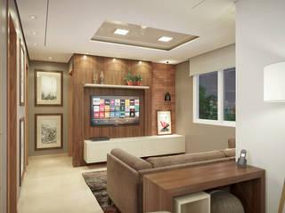 Livings de estilo moderno de studio vtx Moderno